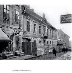 Krásy Bratislavy alebo ako hlavné mesto vyzeralo kedysi, časť #100 - BratislavaDen.sk Bratislava, Old Street, Mesto, Squares, Painting, Cinema, Bobs, Painting Art, Paintings