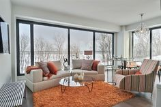 Evolo 2 -  Colourful waterfront condomium Outdoor Furniture Sets, Outdoor Decor, Condominium, Windows, Contemporary, Color, Home Decor, Decoration Home, Room Decor