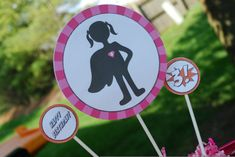 The Party Wagon - Blog - {PINK AND ORANGE} SUPER GIRL