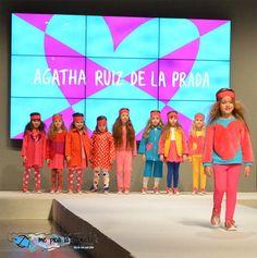 Agatha Ruíz de la Prada en FIMI (Feria Internacional de Moda Infantil organizada por Feria Valencia) mostrando su próxima colección de moda infantil otoño invierno 2017 2018