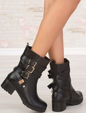Ankle Boots Sonita - W-Lady Exclusive - μαύρο