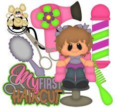 My First Haircut Girl - Treasure Box Designs Patterns & Cutting Files (SVG,WPC,GSD,DXF,AI,JPEG)
