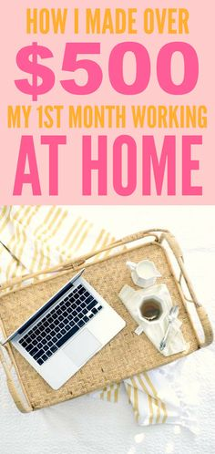 How she made $500 her first month of blogging is INCREDIBLE! I'm so glad I found these GREAT tips! Now I have some really good ways to make my blog work!