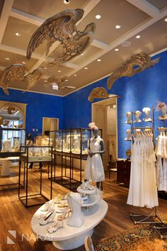 Beautiful new Chicago BHLDN wedding boutique store! Photos by Nakai Photography www.nakaiphotography.com