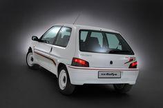 1994 Peugeot 106 Rallye   I4, 1,294 cm³   98 PS / 72 kW