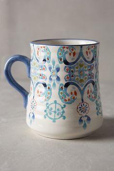 Swirled Symmetry Mug #anthropologie