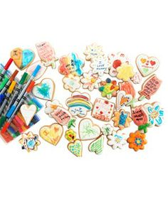 Eleni's Color Your Own Hearts and Flowers #gifts