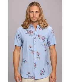 Casual floral button up from Obey