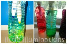 Discover, Experiment and Explore with Discovery Bottles