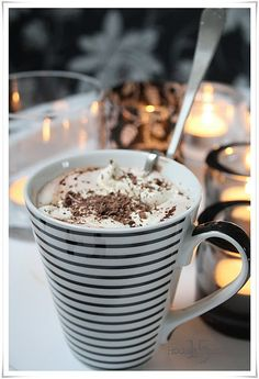 This is how I make/like my hot chocolate!!!
