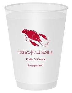 Personalized frosted plastic cups are our most popular style. Free online preview. Free 2nd side imprint. These shatterproof cups are perfect for indoor and outdoor entertaining. BPA Free. Choice of 5 oz., 9 oz., 12 oz., 14 oz., 16 oz., or 20 oz. cup sizes, 25+ imprint colors,and typestyles. Recyclable (#5-Polypropylene). BPA Free. Made and printed in the USA.