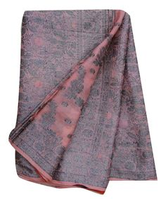 Vintage Saree Pure Silk Sarong Woven Decorative by VintageHaat