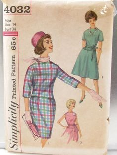 1960s Simplicity dress