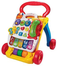 Vtech First Steps Baby Walker - Walkers - Toys, Bouncers, Trikes | The One Stop Baby Shop | Baby Bunting
