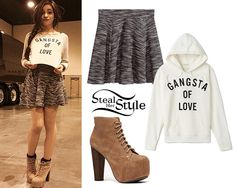 Camilla cabello steal her style Style Outfits, Classy Outfits, Outfits For Teens, Summer Outfits, Cute Outfits, Fashion Outfits, Fasion, Sexy Outfits, Crop Top Outfits