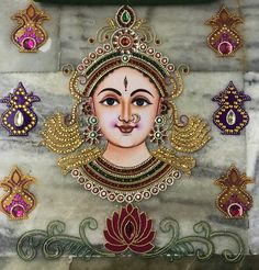 Best 12 Grants ultimate blessings to her devotees like prosperity and condemning negativity – SkillOfKing. Durga Painting, Tanjore Painting, Diwali Diy, Diwali Craft, Marble Painting, Fabric Painting, Acrylic Rangoli, Krishna Drawing, Diy Diwali Decorations