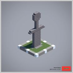 2017 Statue Collection (Redux) - Explore the best and the special ideas about Minecraft Skins Villa Minecraft, Minecraft Kunst, Minecraft Building Guide, Minecraft Statues, Minecraft Structures, Minecraft Castle, Minecraft Medieval, Minecraft Plans, Minecraft Survival