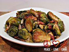 Check out some of my other favorite low carb side dish recipes: Skillet Roasted Bacon Brussels Sprouts with Garlic Parmesan Cream Sauce Cheesy Garlic Creamed Spinach Oven Roasted Cabbage Wedges Garlic Parmesan Roasted Cauliflower Paprika Roasted Bacon, Parmesan Roasted Cauliflower, Roasted Radishes, Garlic Parmesan, Garlic Minced, Roasted Sprouts, Paleo Recipes, Low Carb Recipes, Real Food Recipes