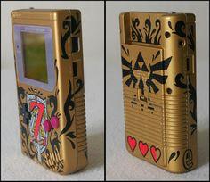Custom Zelda Gameboy