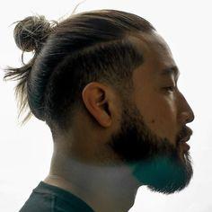 Long hair + man bun + undercut men 29 Best Hairstyles For Asian Men Styles) Man Bun Undercut, Undercut Long Hair, Asian Undercut, Kids Undercut, Undercut Pixie, Korean Men Hairstyle, Man Bun Hairstyles, Asian Hairstyles, Japanese Hairstyles