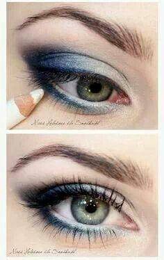 Nat. Green eyes