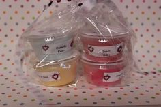 Triple Scented Wax Tarts--4 Pack