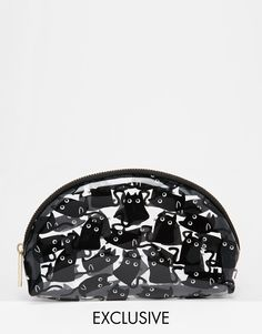 Skinny Dip | Skinny Dip ASOS Exclusive Cat Googly Eyes Make Up Bag at ASOS