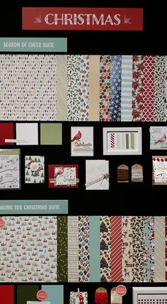 Display Boards, Convention 2015 #stampinup #InspireCreateShare