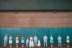Rustic vintage wedding | Photo by James Frost Photography | Read more - http://www.100layercake.com/blog/?p=67289