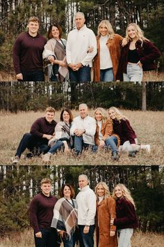 Older Family Photos, Adult Family Pictures, Adult Family Poses, Extended Family Photos, Large Family Poses, Fall Family Portraits, Family Portrait Poses, Outdoor Family Photos, Family Picture Poses