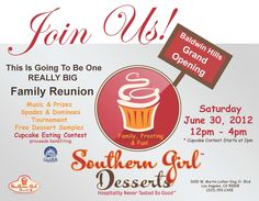 Southern Girl Desserts Grand Opening