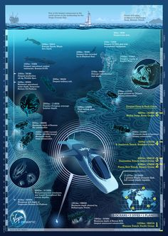 Sir Richard Branson launches the Virgin Oceanic submarine, exploring five of the world's deepest trenches.