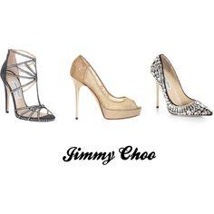 """jimmy choo"" by jazzybadd-badd on Polyvore"