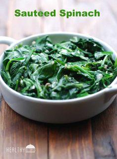 Sautéed Spinach | Healthy Recipes