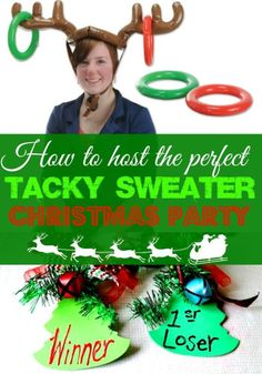 How To Host the Perfect Tacky Christmas Sweater Party   eBay