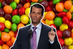 "& his Skittles Scandal. Clueless a-hole. As a wise man once said to me, ""the turd didn't fall far from the ass! Donald Trump Jr, Sick Burns, Clueless, Scandal, Internet, Fall, Donald Trump Daughter, Syrian Refugees, Autumn"