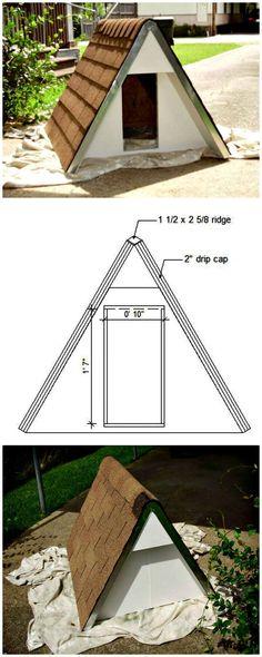 22 best double dog house images pets build a dog house dog cat rh pinterest com