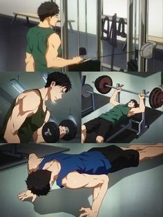 Sousuke Yamazaki I always admired his dedication (muscles too but...)