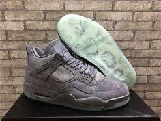 """311e69b4051a KAWS x Air Jordan 4 """"Cool Grey"""" Price   195.99  shoe  kicks"""