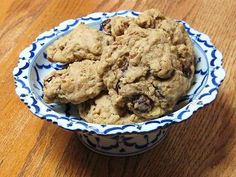 Ginger Cherry Oatmeal Cookies