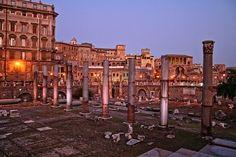 Italia, Roma, Foro De Trajano