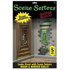 details about scary halloween scene setter add on graveyard raiders party decoration halloween scene scene and halloween scene setters