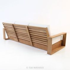 Teak Warehouse | Kuba Teak Outdoor Sofa