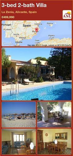 3-bed 2-bath Villa in La Zenia, Alicante, Spain ►€499,990 #PropertyForSaleInSpain