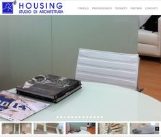Sito web di Upane per lo studio di architettura Housing