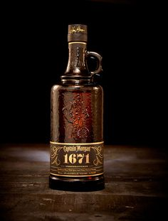 captain morgan 1671 on Packaging Design Served