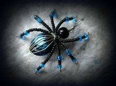 Wire Beaded Spider by ~kikisnanny on deviantART
