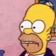 Cuando te das cuenta que le dice linda a varias.. Memes Simpsons, Die Simpsons, Spongebob Memes, Stupid Memes, Dankest Memes, Funny Memes, Cartoon Icons, Cartoon Memes, Reaction Pictures
