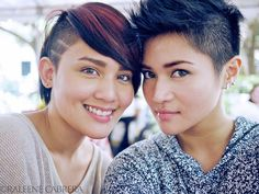cute short hair x2