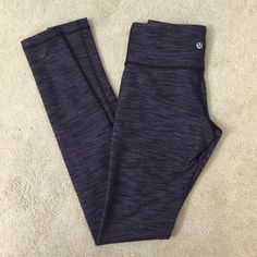 Lululemon. Wunder Under Pant. Tender violet denim. Excellent condition   no trades ✖️ no holds  offers considered through the offer button ♻️ if it's listed, it's available lululemon athletica Pants